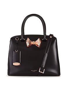 ted-baker-leather-metal-bow-tote-bag