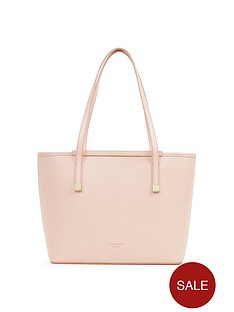 ted-baker-small-crosshatch-shopper-with-clutch