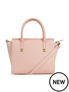ted-baker-crosshatch-leather-grab-bag