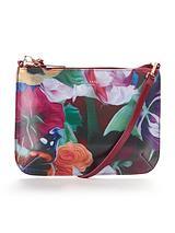 Floral Swirl Crossbody Bag