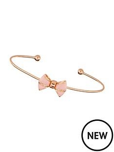 ted-baker-enamel-bow-fine-bracelet