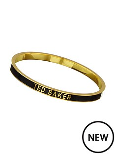 ted-baker-enamel-logo-bangle