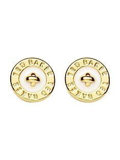 ted-baker-tempany-logo-stud-earrings