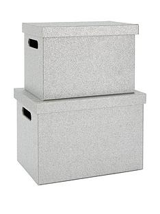 glitter-set-of-2-lidded-boxes-silver