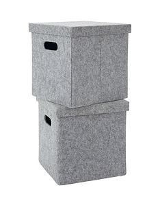 pack-of-2-lidded-felt-cubes-grey
