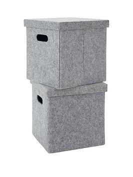pack-of-2-lidded-felt-cubes-grey