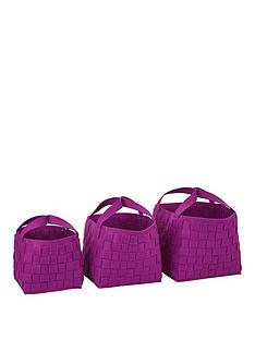 set-of-3-felt-storage-baskets-purple