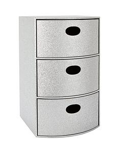 glitter-3-drawer-chest-silver