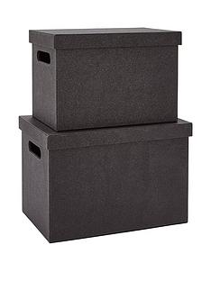 glitter-set-of-2-lidded-boxes-black