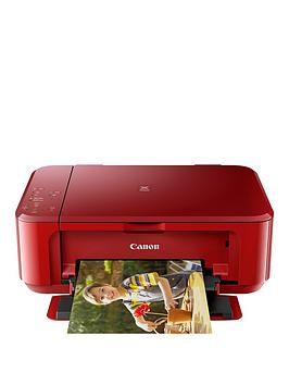 Canon Pixma Mg3650 Multifunction Printer  Red
