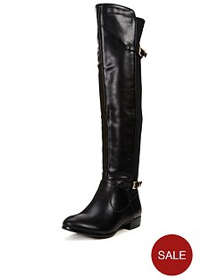 glamorous-flat-boot-with-bucklesnbsp
