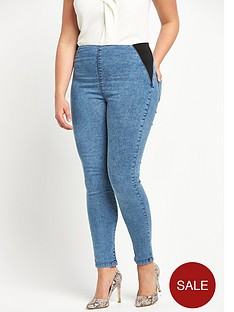 so-fabulous-plus-size-acid-wash-elastic-side-waist-jegging