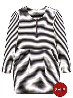 name-it-girls-long-sleeve-stripe-dress