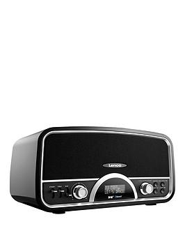 lenco-retro-radio-with-bluetooth-black