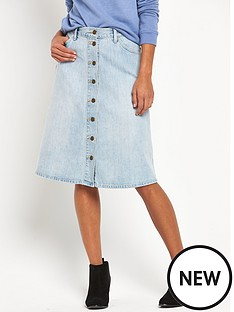 levis-levi-midi-button-through-denim-skirt