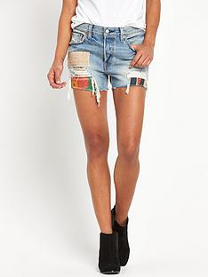 levis-levi-501-patchwork-denim-short