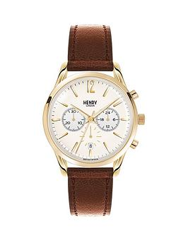 henry-london-henry-london-westminster-chronograph-pale-champagne-dial-tan-leather-strap-mens-watch