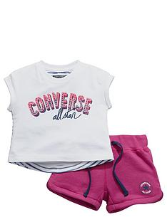 converse-converse-baby-girls-top-and-shorts-set