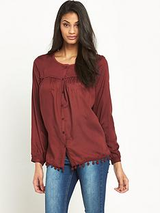 v-by-very-pom-pomnbsptrim-blouse