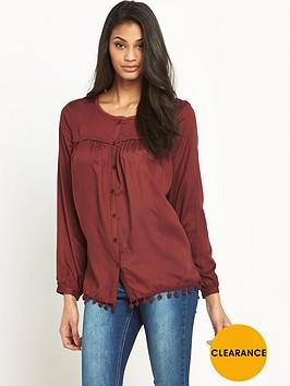 v-by-very-pom-pomnbsptrim-blouse