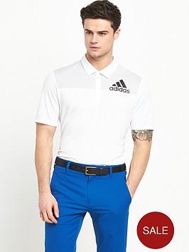 adidas-golf-big-logo-dot-print-polo