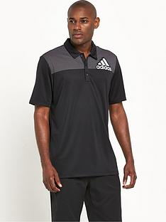adidas-golf-big-logo-dot-print-polo