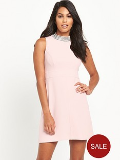 v-by-very-high-neck-diamante-dress