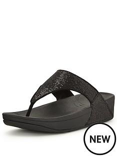 fitflop-fitflop-lulu-superglitz-black-toe-post-sandal