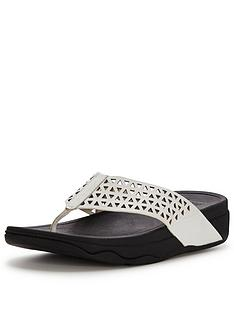 fitflop-lattice-surfa-white-flip-flop