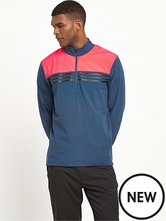 adidas-adidas-golf-climacool-colourblock-14-zip-top