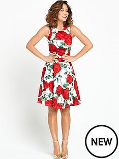 myleene-klass-oversized-floral-scuba-dress