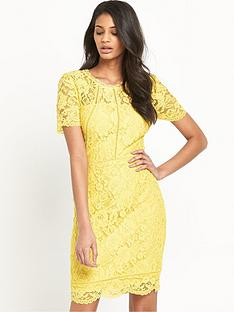 v-by-very-ladder-detail-lace-midi-dress