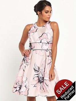 v-by-very-large-floral-jacquard-dress