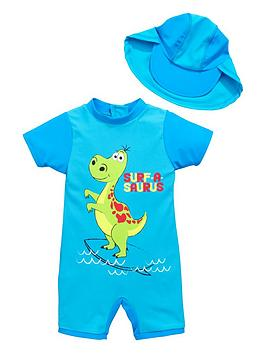 ladybird-boys-dino-sunsafe-and-hat-set