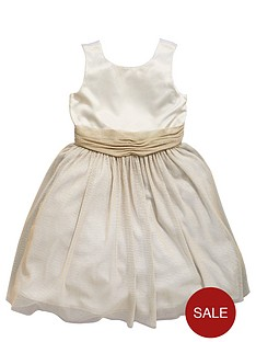 ladybird-girls-pretty-satin-and-lurexnbspoccasion-dress