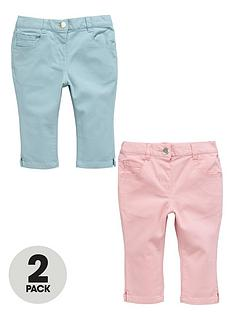 ladybird-girls-coloured-cropped-jeans-2-pack