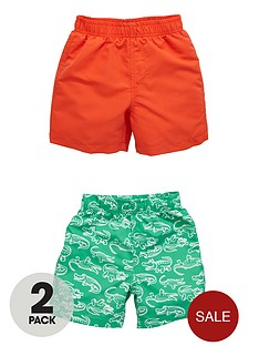 ladybird-boys-magic-print-swim-shorts-2-pack