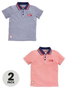 ladybird-boys-birdseye-heritage-polo-shirts-2-pack
