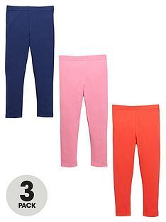 ladybird-girls-plain-leggings-3-pack
