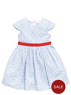 ladybird-girls-occasionnbsplace-flower-and-stripe-dress