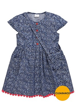 ladybird-girls-cap-sleeve-shirt-dress-and-bag-set-2-piece