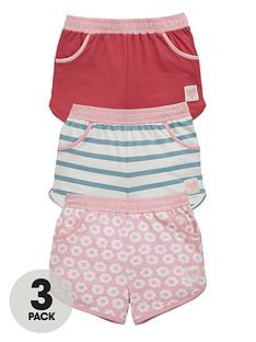 ladybird-girls-jersey-shorts-3-pack