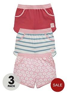 ladybird-girls-jersey-shorts-3-pack