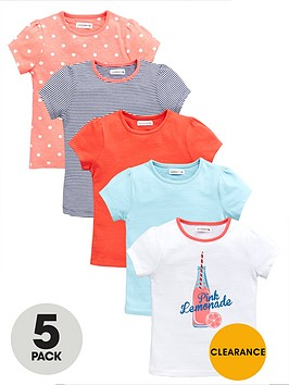 ladybird-girls-heritage-lemonade-t-shirts-5-pack