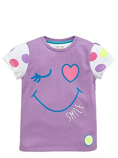 ladybird-girls-smile-spotty-t-shirt