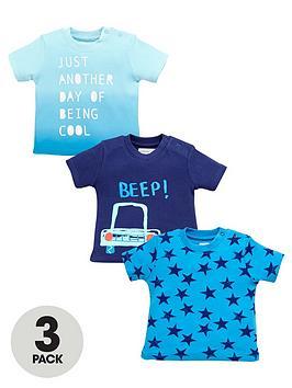 ladybird-baby-boys-fashion-star-t-shirts-3-pack