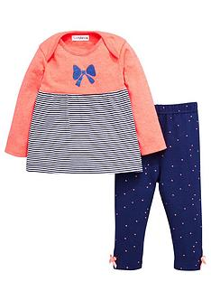 ladybird-baby-girls-stripe-tunic-and-leggings-set-2-piece