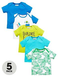 ladybird-baby-boys-jungle-bug-t-shirts-5-pack