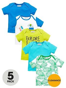 ladybird-baby-boys-jungle-bug-t-shirts-5-pack