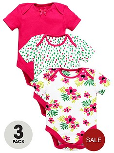 ladybird-baby-girls-bright-bodysuits-3-pack